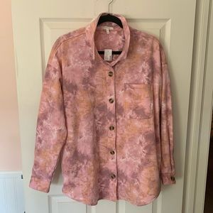 Pink Tie Dye Shacked - NWT